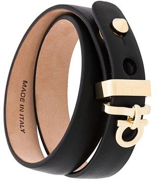 Salvatore Ferragamo Gancini adjustable bracelet