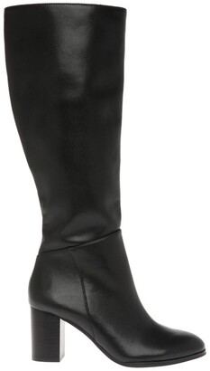 Basque Robyn Black Cow Leather Boot