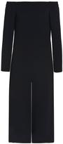 Tibi Off-The-Shoulder Culotte Jumpsuit