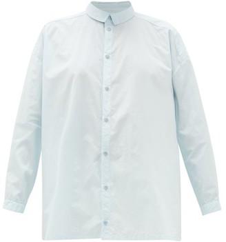 Toogood The Draughtsman Cotton-poplin Shirt - Light Blue