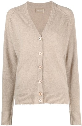 Zadig & Voltaire Fine-Knit Cashmere Cardigan