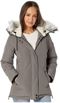 Sam Edelman Short Hooded Parka (Black) Women's Coat