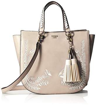 GUESS Nessa Embroidered Satchel San