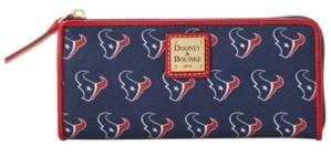 Dooney & Bourke Houston Texans Saffiano Zip Clutch