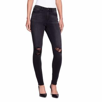 Skinnygirl Women's The High-Rise Skinny Jean in 360 Flex Denim