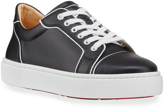 Christian Louboutin Vieirissima Flat Red Sole Sneakers