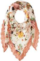 Betsey Johnson Women's Floral Triangle Daywrap