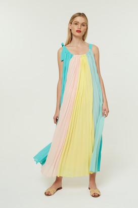 Jovonna London Attache Maxi Dress in Multicolour - Large