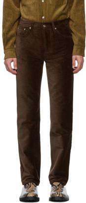 Séfr Brown Corduroy Sin Trousers