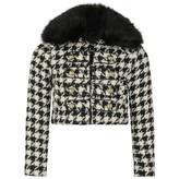 Relish RelishGirls Houndstooth Wool Coat