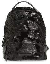 KENDALL + KYLIE Kendall & Kylie Mini Sloane Velvet & Sequin Backpack