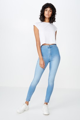 Supre Long Leg Super Skinny Sky High Jean