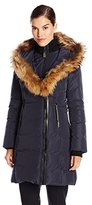 Mackage Women's Kay Down Coat with Fur Trim Hood