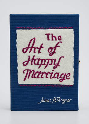 Olympia Le-Tan Olympia Le Tan The Art Of Happy Marriage Mini Book Clutch Bag