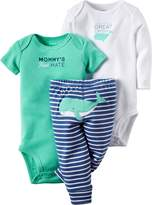 Carter's Baby Boy's 3-Piece Bodysuit & Pants Set (Baby)