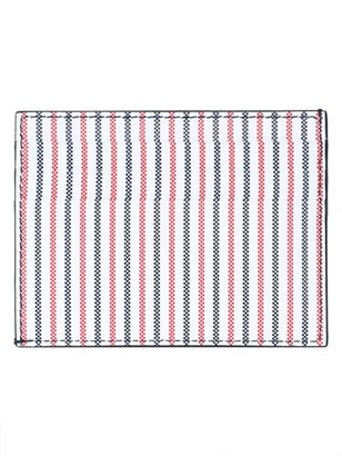 Thom Browne Striped Leather Card Case