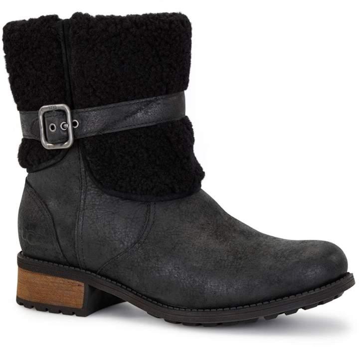 104a8e262da Women's Blayre II Shearling Cuff Suede Boots