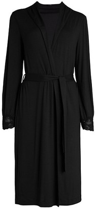 La Perla Lace-Trim Robe