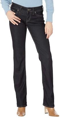 Silver Jeans Co. Suki Mid-Rise Slim Boot Jeans L93616SPR424 (Indigo) Women's Jeans