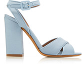 Tabitha Simmons Connie Satin-Twill Sandals