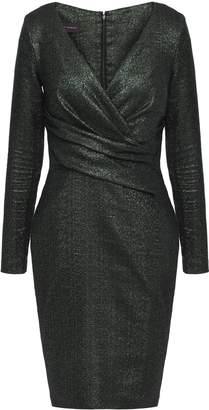 Talbot Runhof Draped Jersey Dress