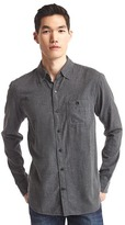 Gap Flannel heathered shirt
