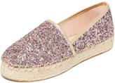 Kate Spade Linds Too Platform Glitter Espadrilles