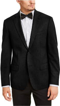 Calvin Klein Men Slim-Fit Stretch Solid Textured Sport Coat
