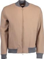 Eleventy Boiled Wool Bomber Jacket