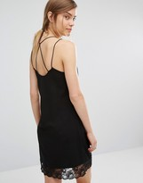 Vero Moda Lace Trim Cami Dress