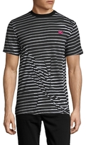 McQ by Alexander McQueen Striped Knit T-Shirt