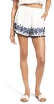Show Me Your Mumu Women's Laney High Waist Pompom Shorts