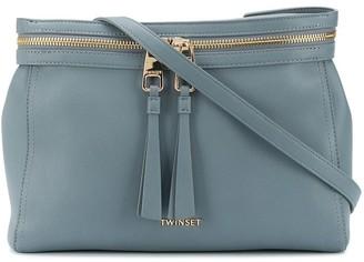 Twin-Set Tassel-Detail Tote Bag