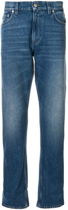 Burberry Stonewashed Straight Leg Jeans