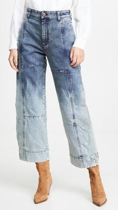 See by Chloe Dip Dye Jeans