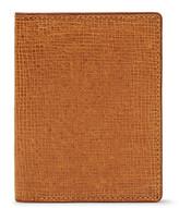 Dries Van Noten Cross-Grain Leather Bifold Cardholder