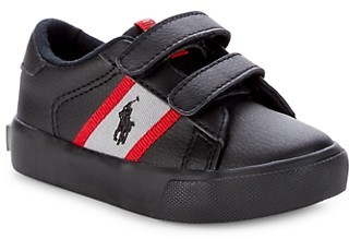 Polo Ralph Lauren Baby's Kid's Faux Leather Sneakers