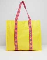 bombay duck Sienna Shopper Bag with Ribbon
