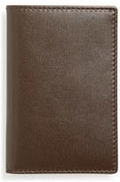 Comme des Garcons Men's Classic Leather Card Case - Brown