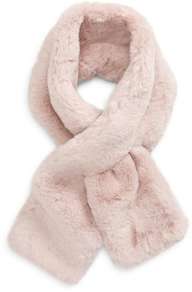 Ted Baker Athenaa Faux Fur Pull Through Scarf