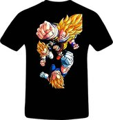 Short Sleeves Custom Dragon Ball Z Men's Short Sleeve Tee shirt Cotton Tee