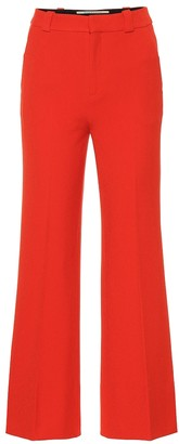 Roland Mouret Dilman high-rise wide-leg pants