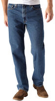 Levi's 550 Relaxed Fit Dark Stonewash Jeans