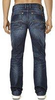 Buffalo David Bitton Men's Six Slim Straight Leg Denim Jean In Sandblasted
