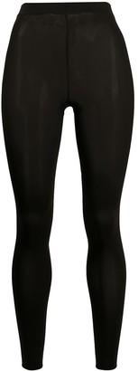 Wolford velvet capri tights