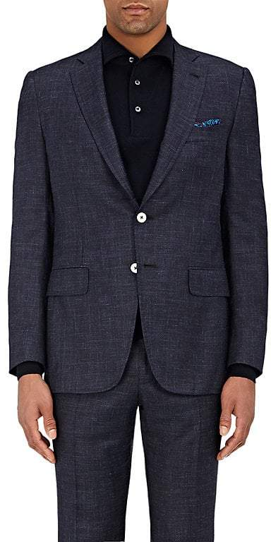Isaia Men's Gregory Linen Two-Button Sportcoat