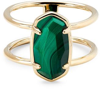 Kendra Scott Elyse Gold Vermeil Double Band Ring