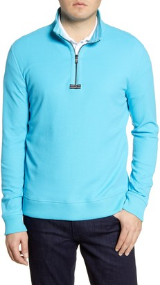 Robert Graham Draft Quarter Zip Sweater