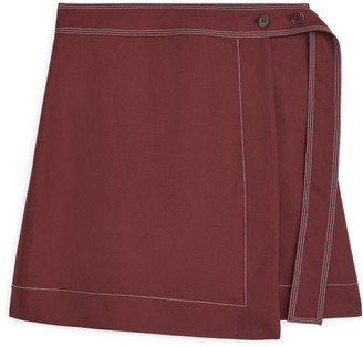 Arket Short Wrap Skirt