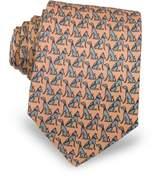Laura Biagiotti Dogs Print Silk Tie